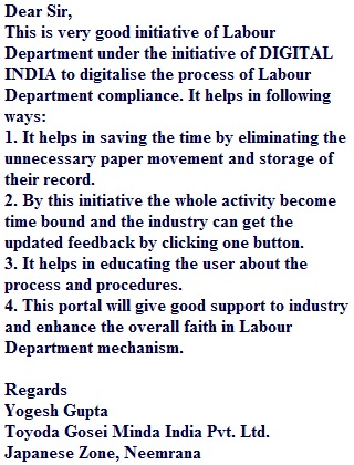 Labour Department, Government of Rajasthan